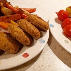 #FitDiet: Mielone kotleciki z piersi kurczaka, marchewki i cieciorki