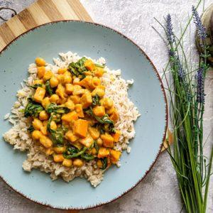 Przyszne wegańskie curry
